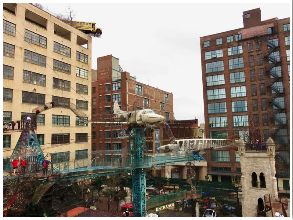 City Museum St Louis Monstrocity