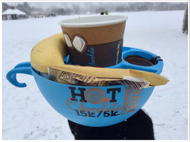 Hot Chocolate Run Finishers Mug