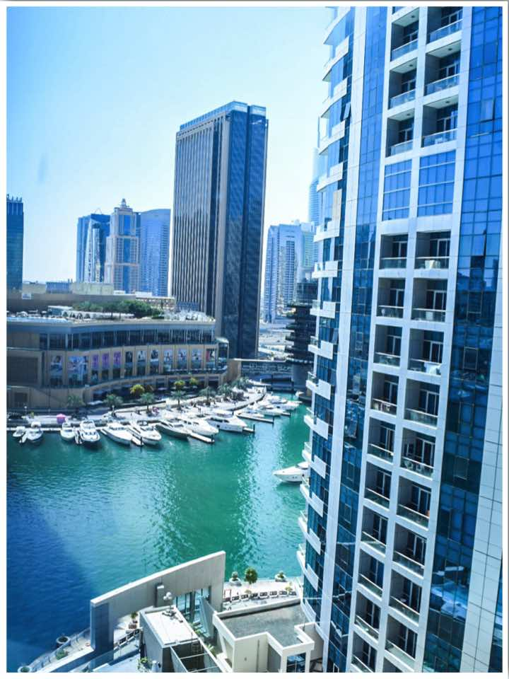 Intercontinental Dubai Marina Arzo Travels