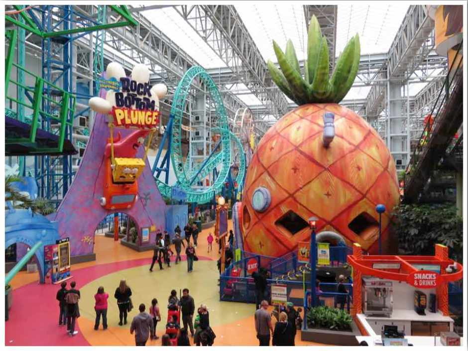 Mall of America Rides