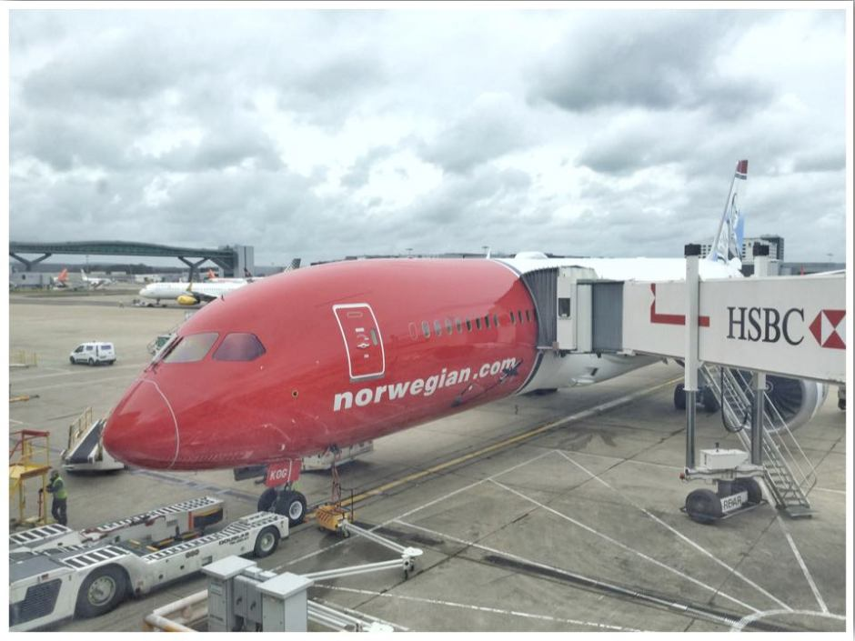 Norwegian Airlines Long Haul