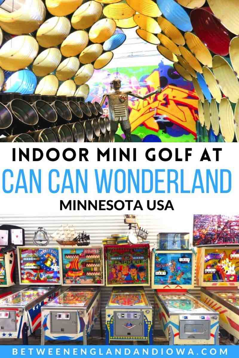 Can Can Wonderland Mini Golf in Minnesota USA
