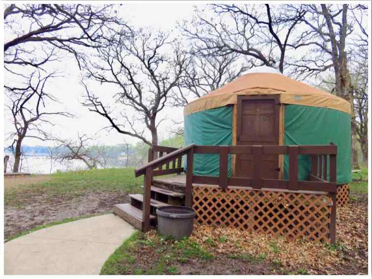 Clear Lake Yurt 2