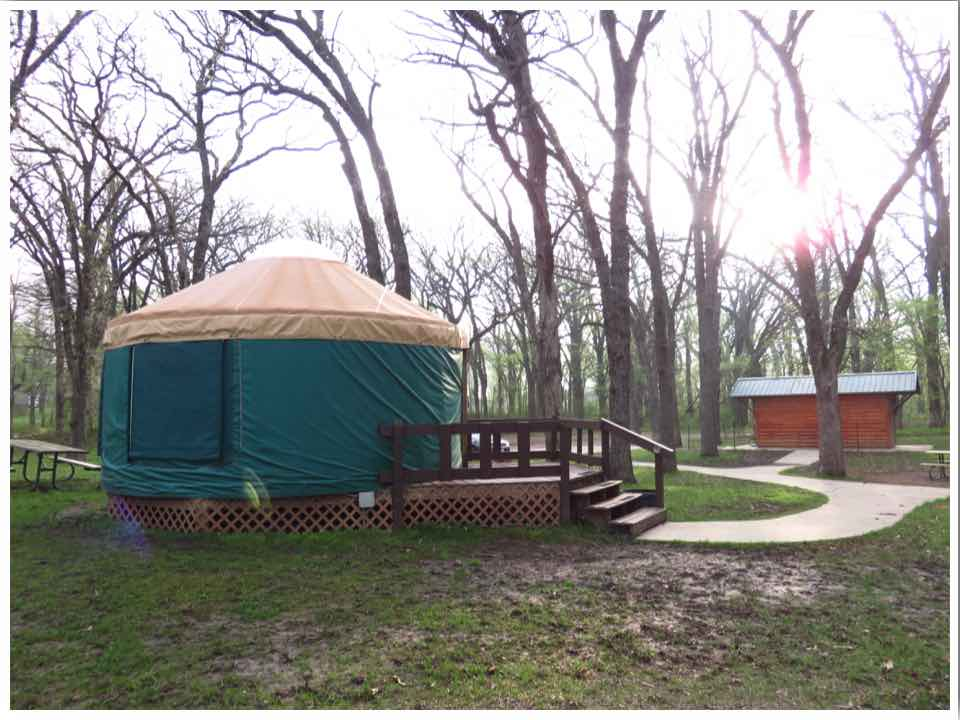 Clear Lake Yurt and Toilet Block