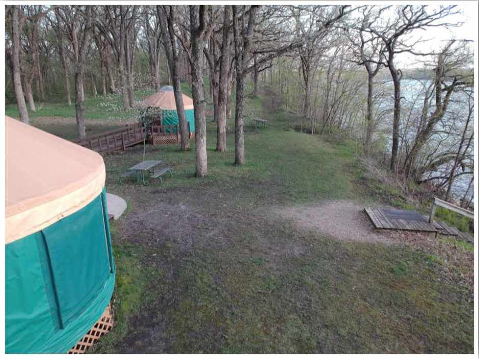 Clear Lake Iowa Yurts
