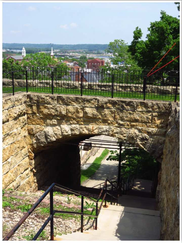 Dubuque Downtown Stairs