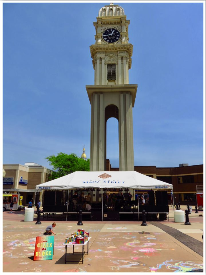 Dubuque Town Clock Plaza