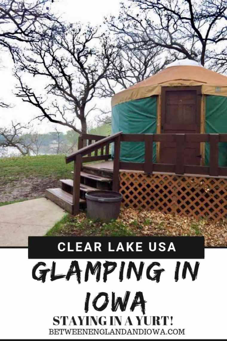 Glamping Iowa.  What to expect staying in a Yurt! Yurts in the USA