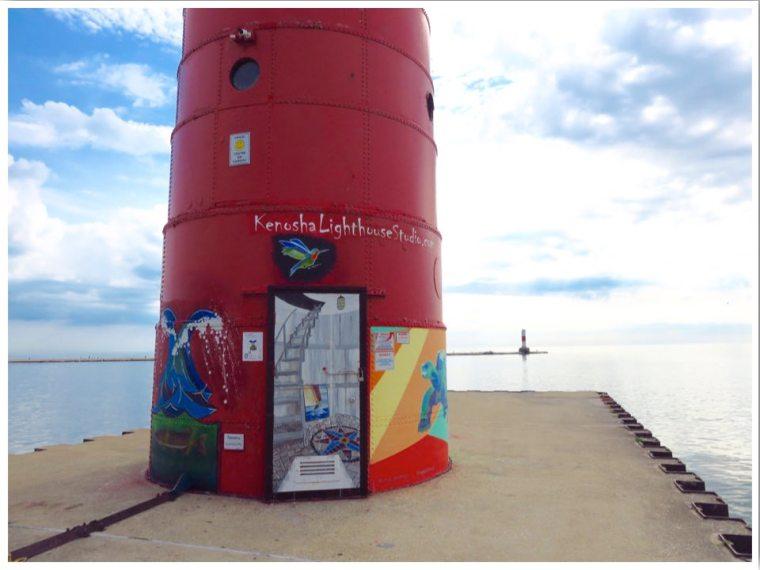 Kenosha North Pier Lighthouse