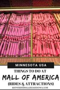 Things to do at the Mall of America in Bloomington, Minnesota. Check out my favourite Mall of America rides and attractions!