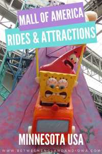 Mall of America Rides and Roller Coasters