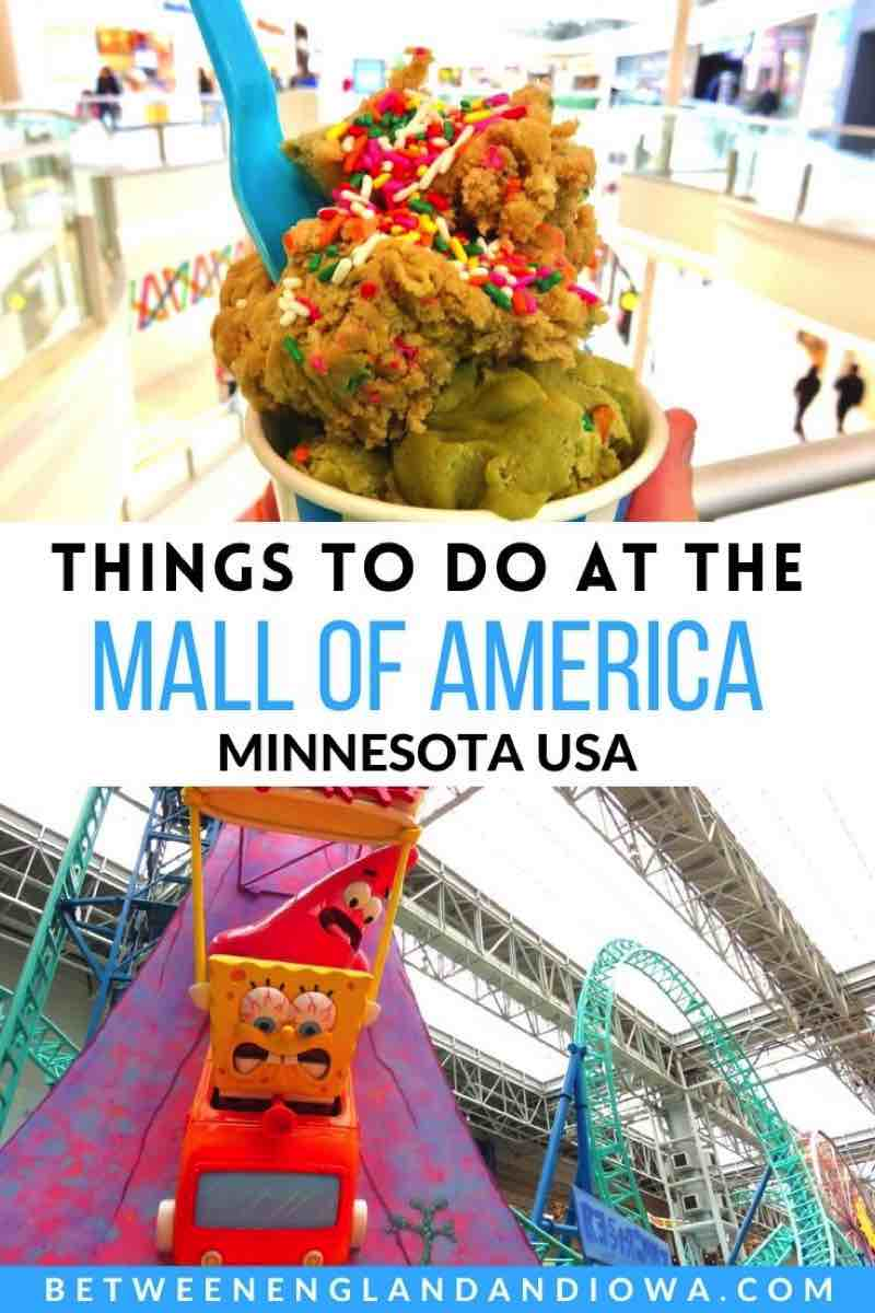 Things to do at the Mall of America in Minnesota USA