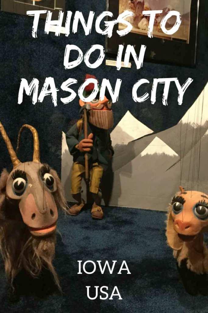 Things to do in Mason City Iowa. From Frank Lloyd Wright to the Sound of Music to Meredith Willson's Music Man! #masoncity #iowa