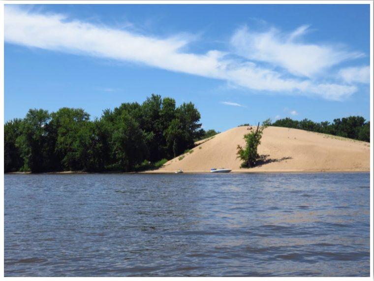 Mississippi River Sand Dune