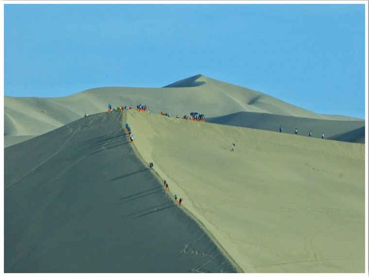 Dunhuang Sand Dunes China Cycloscope