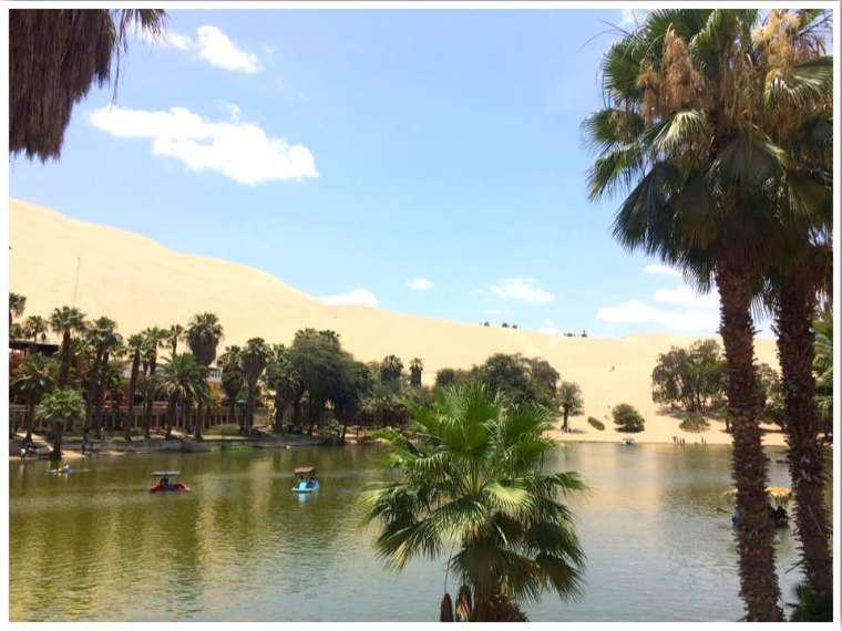 Huacachina Peru Past The Potholes