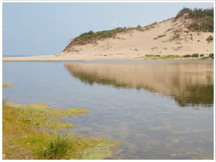 Sand dunes in Taiwan Nick Kembel