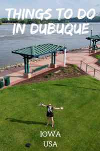 35 things to do in Dubuque Iowa in the Summer. The best things to do in the city where Iowa started! #dubuque #iowa #usa