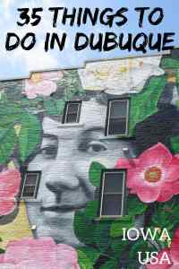 35 Things to do in Dubuque Iowa in Summer. Ideas for things to do in the city where Iowa started! #iowa #dubuque #usa