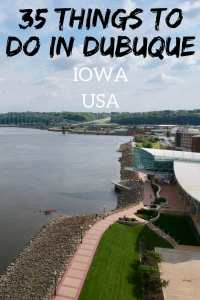 35 Things to do in Dubuque Iowa in Summer. Your guide of things to do in the city where Iowa started! #dubuque #iowa #usa