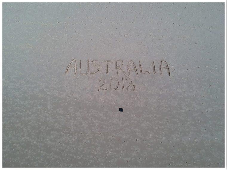 Australia Surfer's Paradise beach Drone