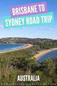 Brisbane to Sydney Road Trip Itinerary