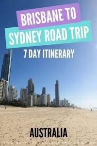Brisbane to Sydney Road Trip East Coast Australia