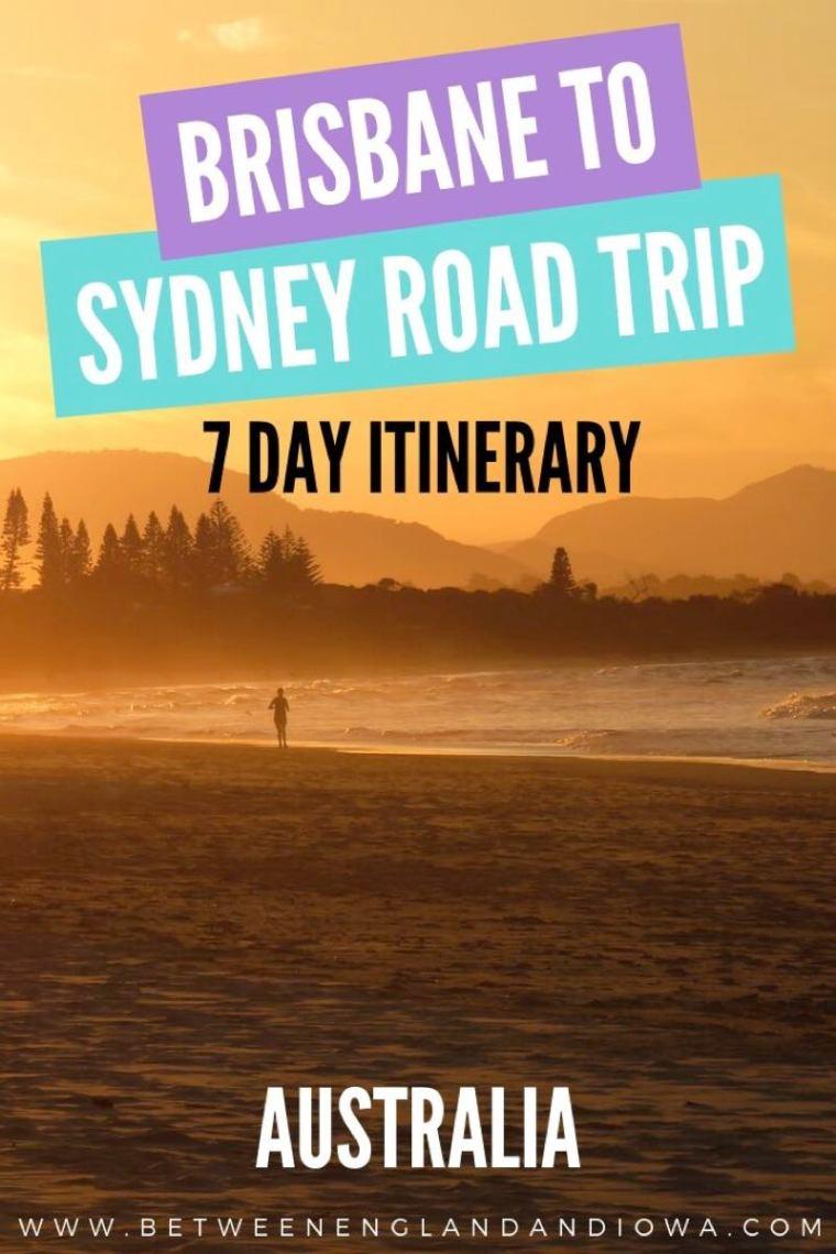 Brisbane to Sydney Road Trip