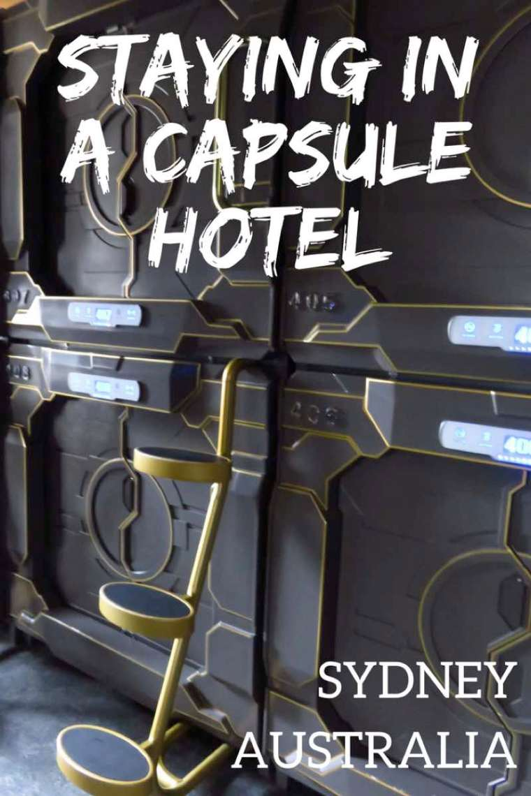 What it's like staying in a capsule hotel. The Capsule Hotel in Sydney is Australia's first capsule hotel! #capsulehotel #sydney #australia