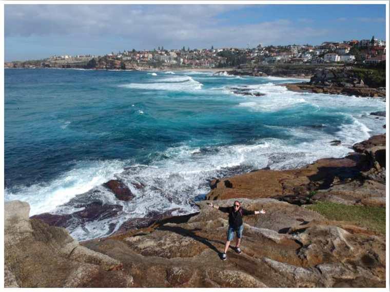 Bondi to Bonte Beach Walk Sydney Australia