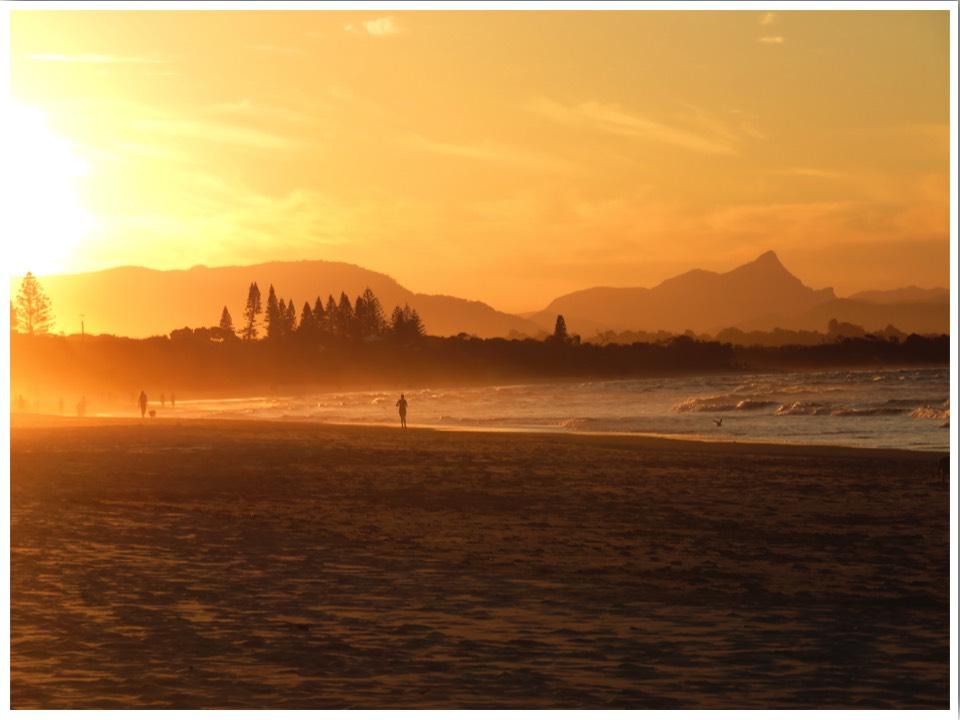 Australia Road Trip Byron Bay Sunset