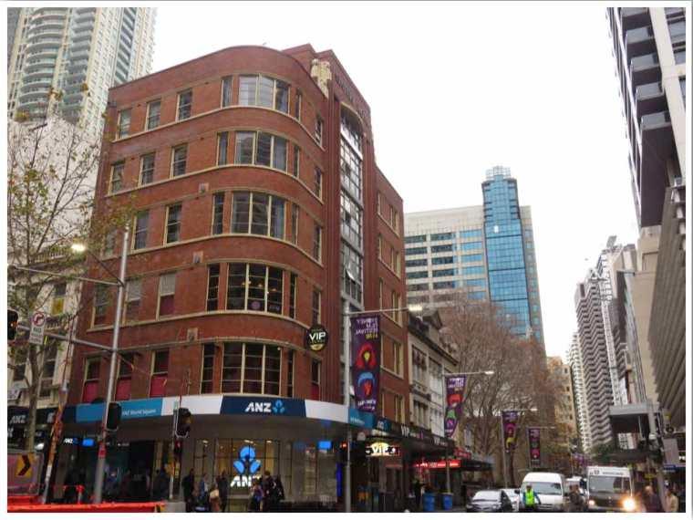 The Capsule Hotel George Street Sydney