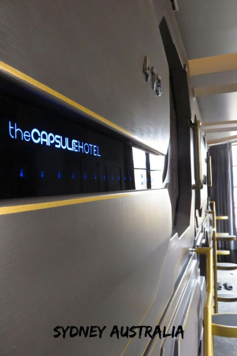 The Capsule Hotel Sydney Australia. What it's like staying in a capsule hotel!