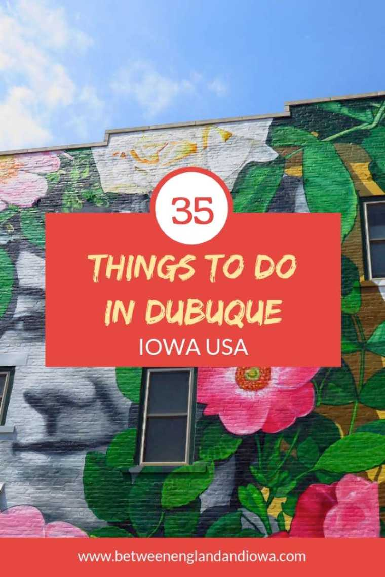 35 Things to do in Dubuque Iowa USA! From food, to attractions, to accommodation, I share will you all the best things to do in this Iowa city!