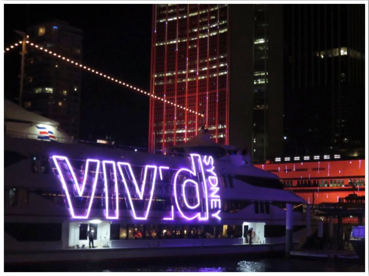 Vivid Sydney Winter in Australia