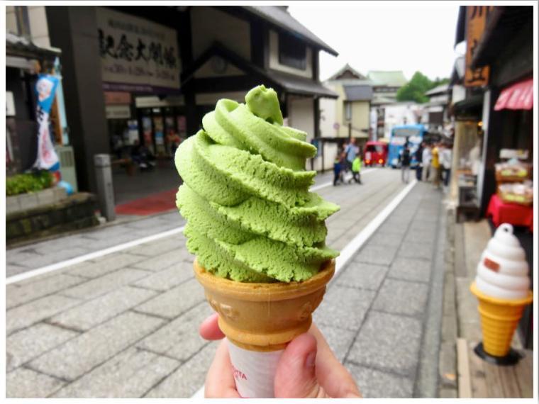 Narita Omotesando Matcha Green Tea Ice Cream