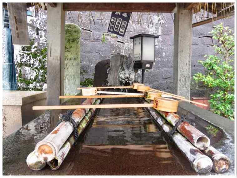 Naritasan Temple Washbasin