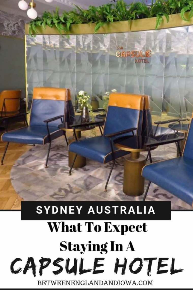 What to expect staying in a capsule hotel.  Sydney capsule hotel in Australia!