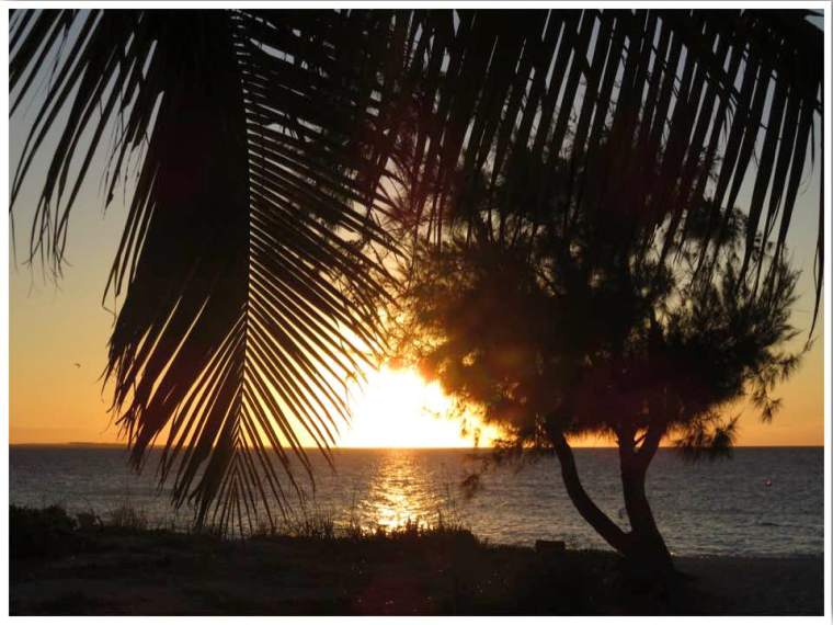 Turks and Caicos Providenciales Grace Bay Beach Sunset