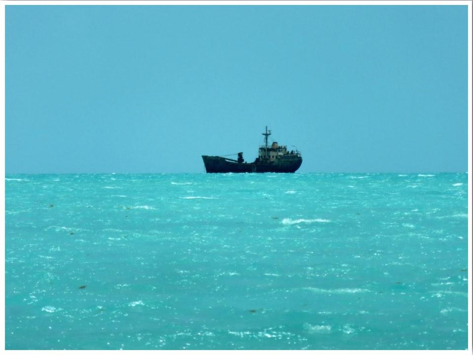 Turks and Caicos Providenciales Long Bay Shipwreck