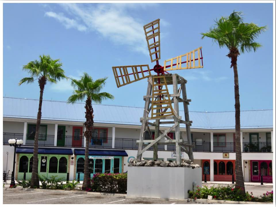 Turks and Caicos Providenciales Saltmills Plaza Shopping
