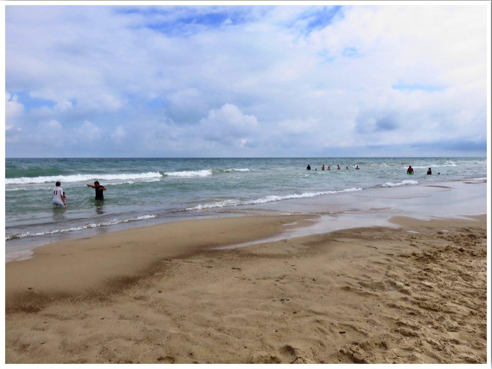 Indiana Dunes State Park Beach