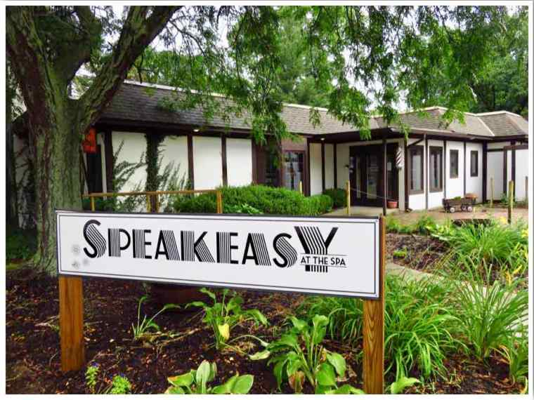 Indiana Dunes Speakeasy at the Spa