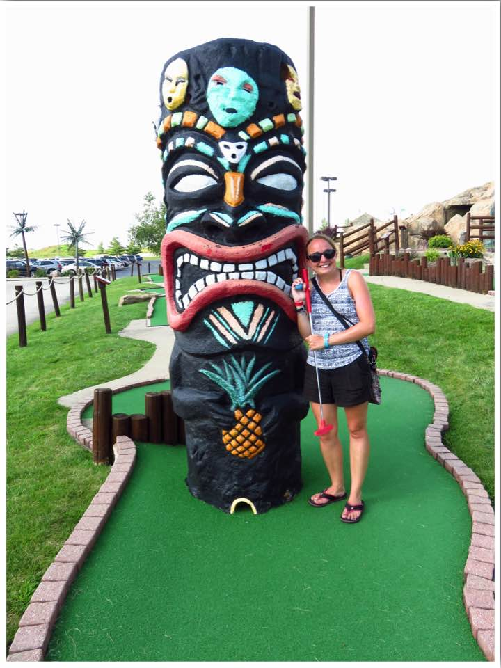 Lost Island Mini Golf Waterloo Iowa