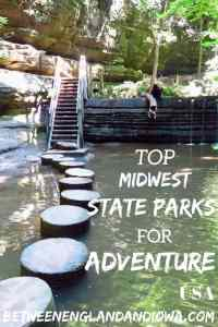 Top Midwest State Parks For Adventure. For waterfalls, to off-roading, to glamping in a yurt. What adventure travel would you take in the American Midwest?