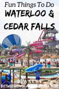 Fun Things to do in Waterloo and Cedar Falls. Did you know Iowa is home to one of the top water parks in the USA?!