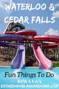 Fun Things to do in Waterloo and Cedar Falls. Did you know Iowa is home to one of the best water parks in the USA?!