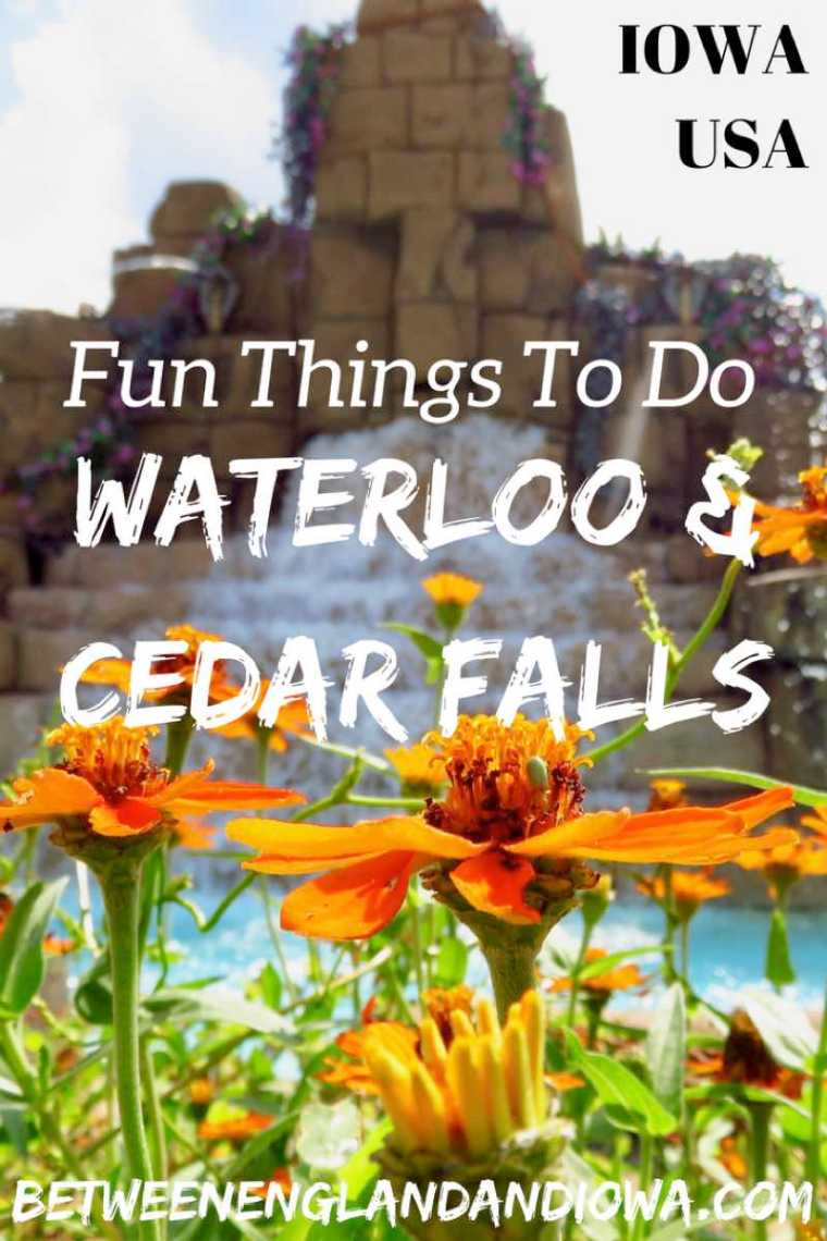 Fun things to do in Cedar Falls and Waterloo Iowa USA! From water parks to stand up paddle board yoga there's lots of things to do in Iowa!