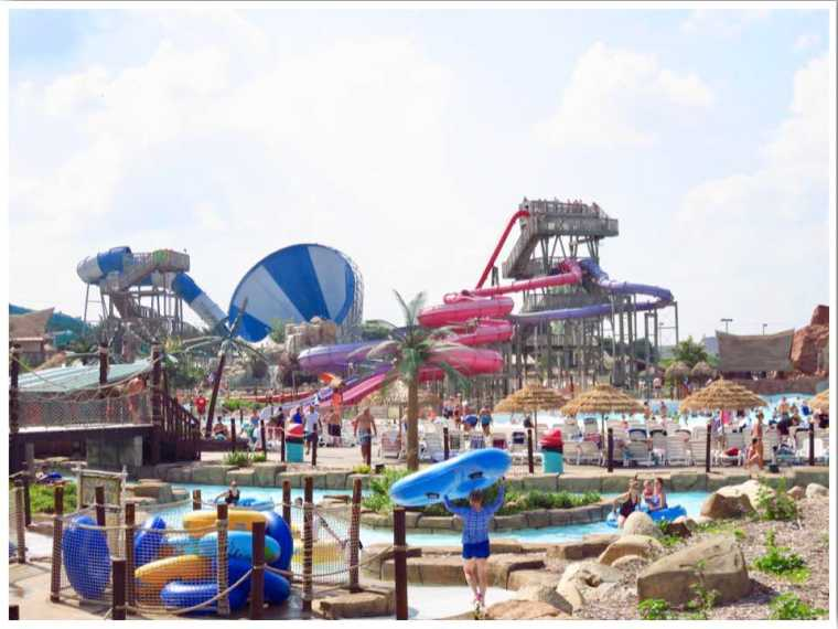 Lost Island Water Park Waterloo Iowa