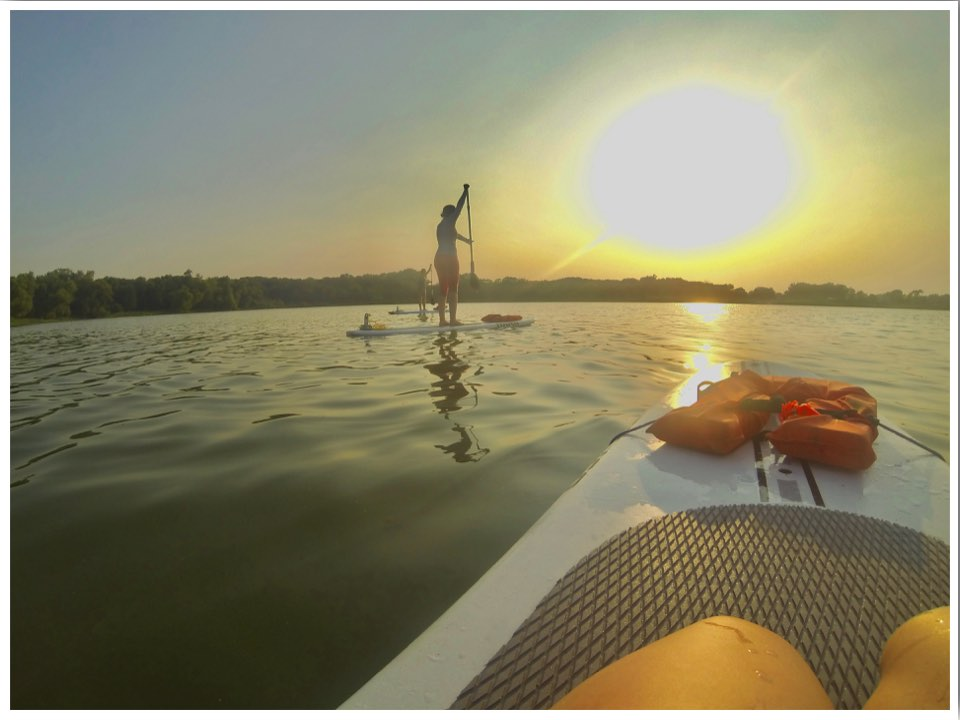 Waterloo Iowa SUP Yoga